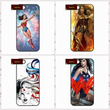 Wonder Woman Super Hero Обложка case для iphone 4 4s 5 5s 5c 6 6 s плюс samsung galaxy S3 S4 mini S5 S6 Note 2 3 4 DE0250(China)