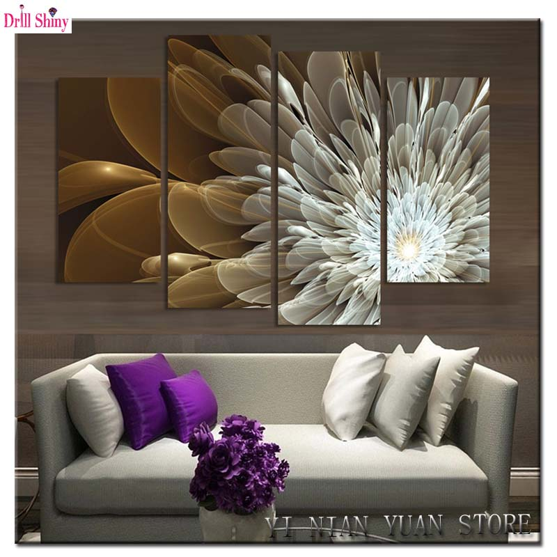 Fashion decoration painting 3D multi picture diamond embroidery kits flowers diamond mosaic rhinestones picture in needlework