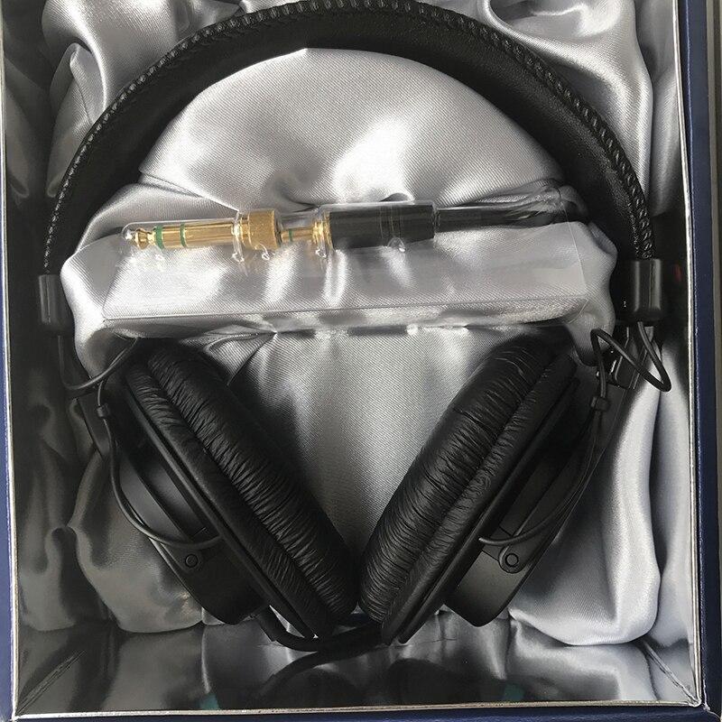 Opaska na głowę słuchawki stereo gra komputerowa DJ monitora duża membrana zestaw słuchawkowy dla SONY MDR 7506 Charms przenośny w Słuchawki/zestawy słuchawkowe od Elektronika użytkowa na  Grupa 1