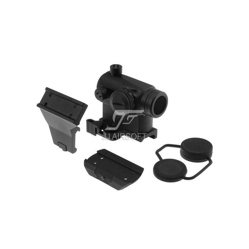 TARGET Micro 1x24 Red Dot with QD Riser Mount ,CNC Low Mount, 45-Degree Offset Mount & Killflash (Black) LT660, LT660HK or LT661