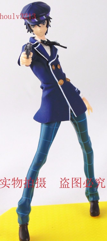 Persona 4 Shirogane Naoto Toy Action Fiure 18 cm