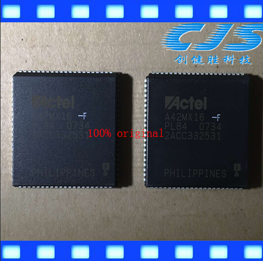 100% original A42MX16 A42MX16-F A42MX16-FPLG84 PLCC