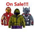 On sale!!!! The Avengers,Iron Man Spring Autumn Children Hoodies Boys Girls Sweatshirt Coat Kids Long Sleeve Casual Outerwear