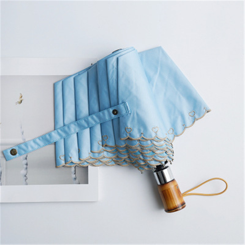 Bamboo Handle Umbrella 4