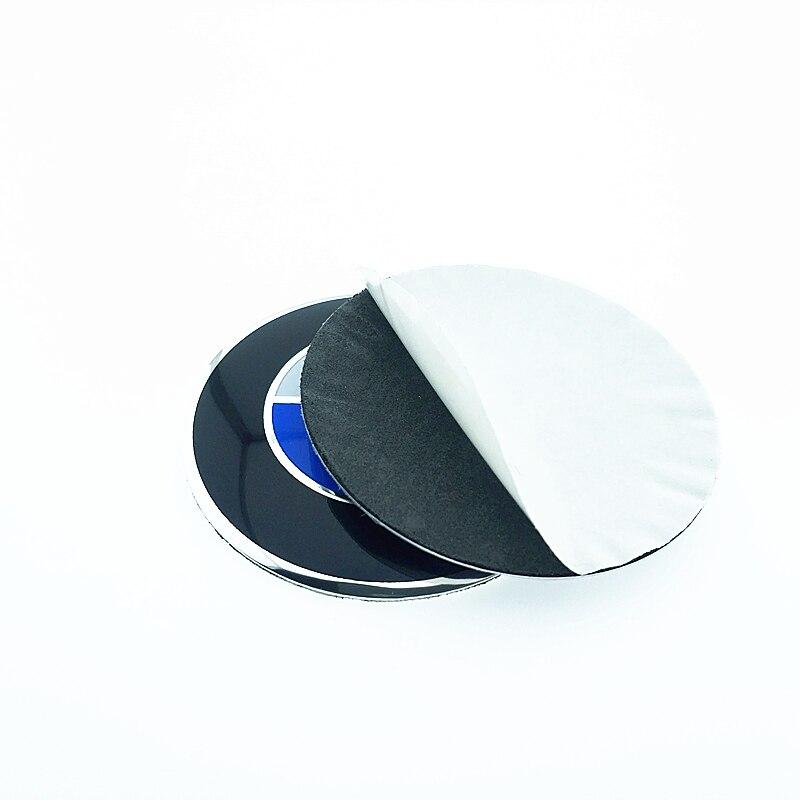 4pcs Car Emblem Wheel Center Hub Cap Badge wheel Decal Sticker For BMW E46 E39 E90 E60 E36 F30 F10 E34 X5 E53 E30 F20 E92 E87 все цены
