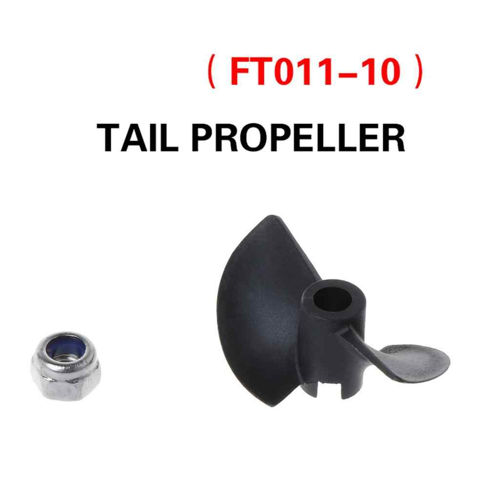 FT011 Afstandsbediening Boot Fittings Propeller Vessel Component RC Boot Onderdelen RC Accessoire Propeller + Moer Onderdelen Dec17
