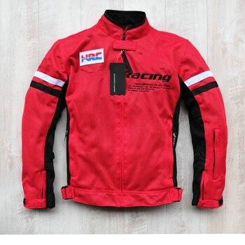 Мотоциклетная летняя сетчатая ветрозащитная куртка на подкладке для Honda Travel с 5 защитными вставками/съемной подкладкой