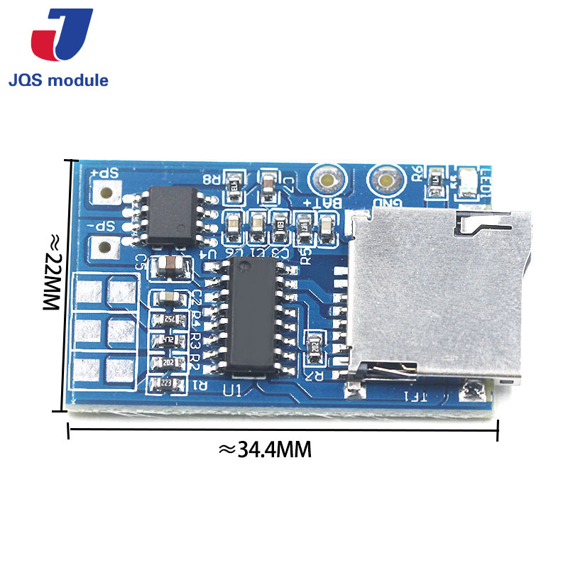 Integrated Circuits Electronic Components & Supplies 1pcs Great It Gpd2846a Tf Card Mp3 Decoder Board 2w Amplifier Module For Arduino Gm Power Supply Module