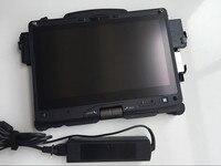 Нетбук windows 7 getac ноутбука v110 ЦП i5 сенсорный планшет с 2 батареи ssd для bmw icom mb star auto диагностический быстрая скорость