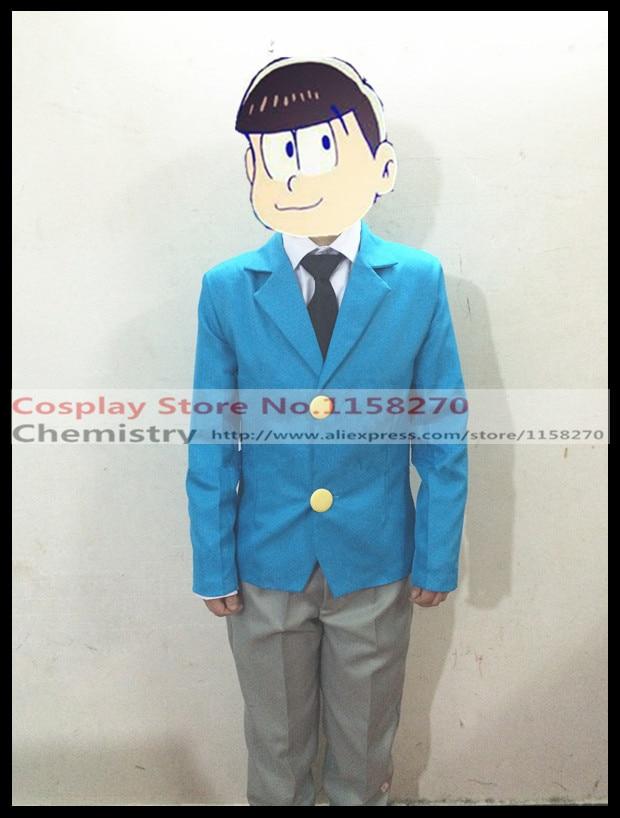 Osomatsu kun School Uniform Cosplay Costume Any size