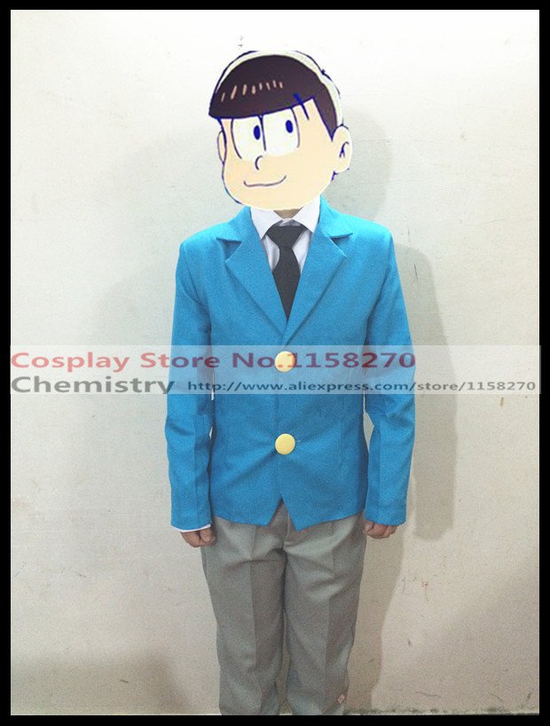 Osomatsu kun School Uniform Osomastu-san Cosplay Costume Any size
