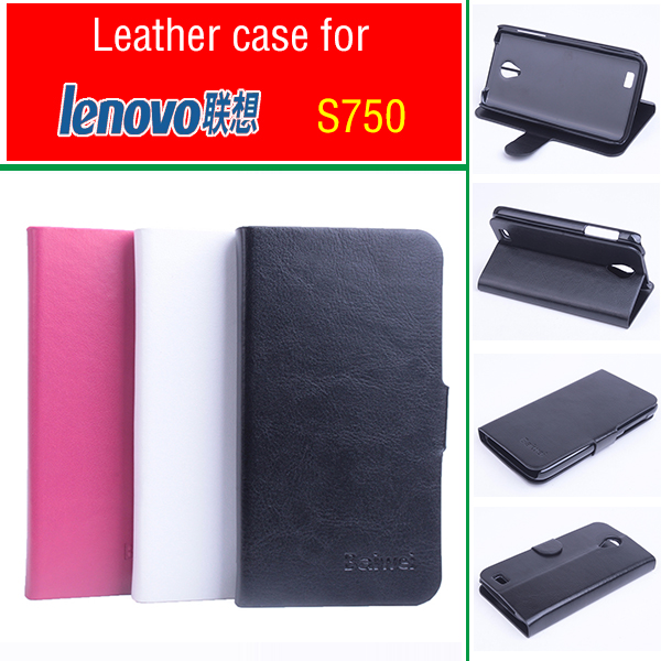 Phone case for <font><b>Lenovo</b></font> <font><b>S750</b></font> case Flip Business Style Case Cover Skin Shell. image