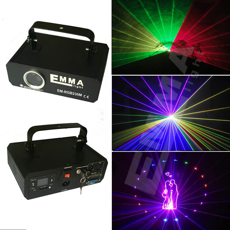 Lovely Ilda 1000mw Rgb Animation Ttl Modulation Laser Light Show /dmx,ilda Laser/disco Light /stage Laser Projector Commercial Lighting Stage Lighting Effect