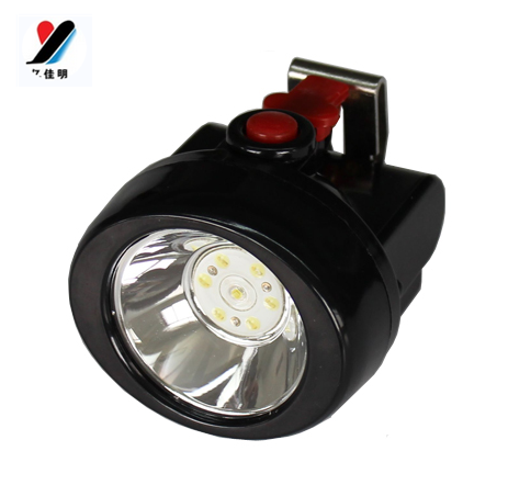 Hend Da 1W LED Mining Headlight Miner Cap Lamp with IP65 Water Proof Level For Camping Hunting Underground KL2.5LM free shippinp