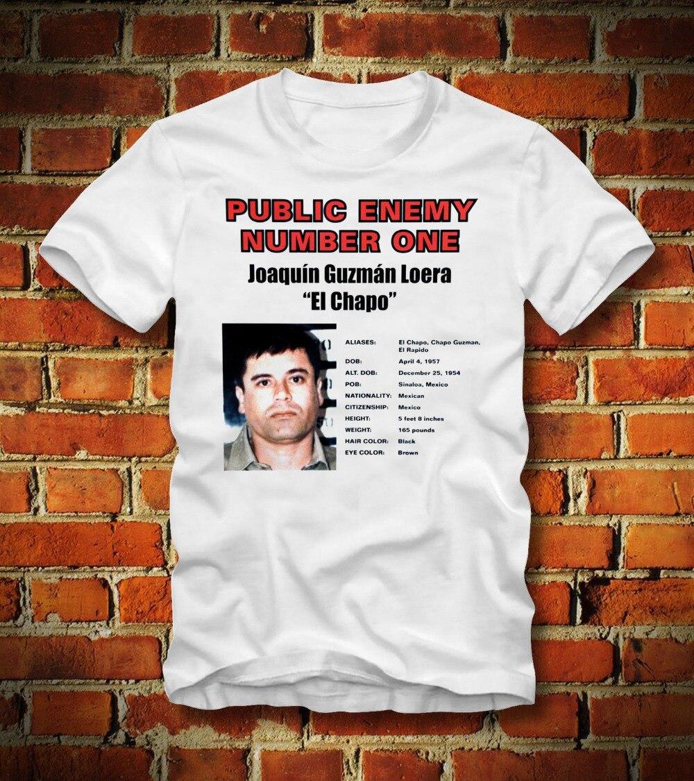 El Chapo Guzman 701 Men's T Shirt Cool O Neck Tops Cheap Price 100