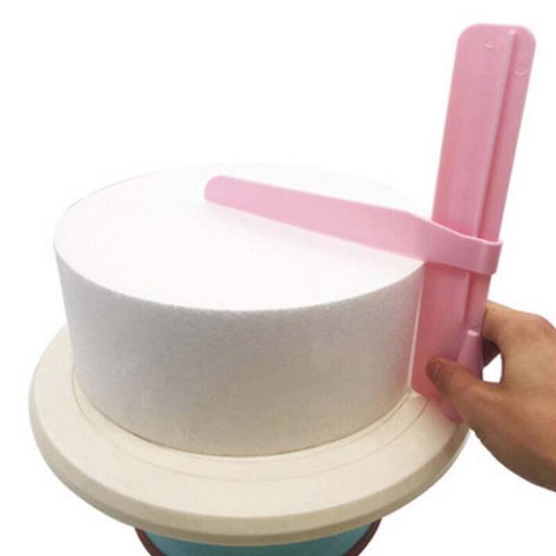 Cake Scraper DIY Adjustable Fondant Spatulas Edge Smoother Cream Decorating Bakeware Tableware Kitchen Tool