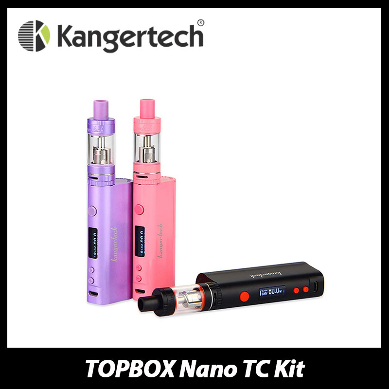 100% Original Kanger Dripbox E cigarette Kit 60W with Subdrip Tank 7ml Replaceable Dripping Coil and Dripmod Box Mod W/O Battery pentel zl62 w zl62 w 7ml