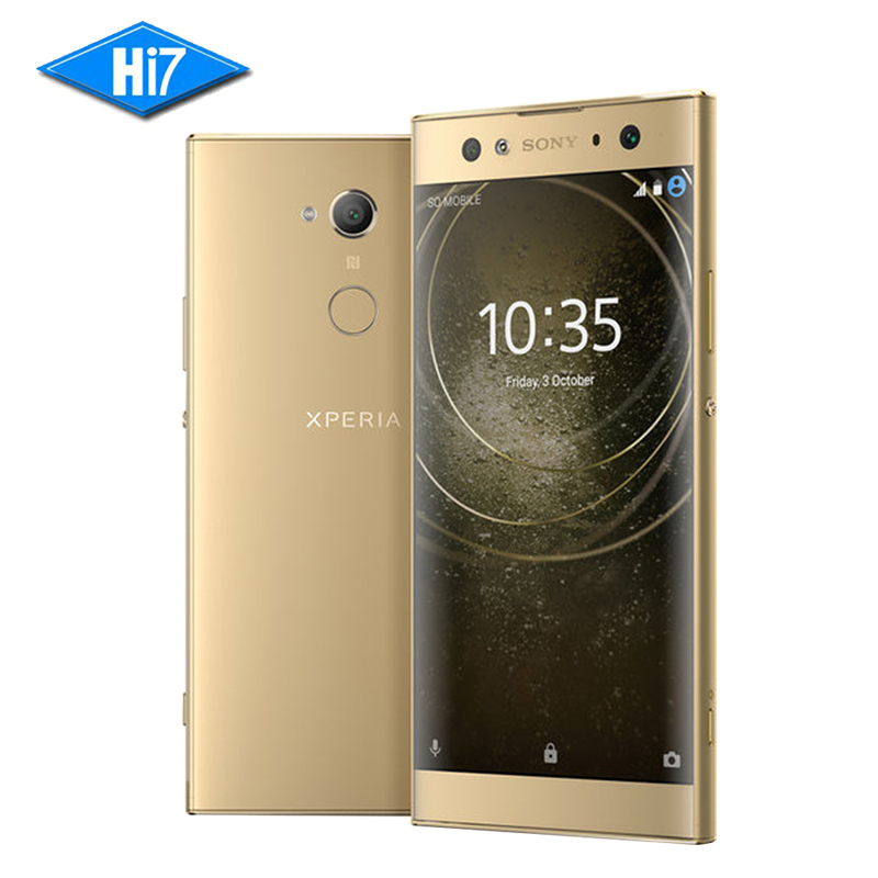 Nouvelle D'origine Sony Xperia XA2 Ultra H4233 3 Caméra 64G ROM 4G RAM 23.0MP Octa Core NFC 3580 mAh Dual Sim Android 8 Téléphone Intelligent