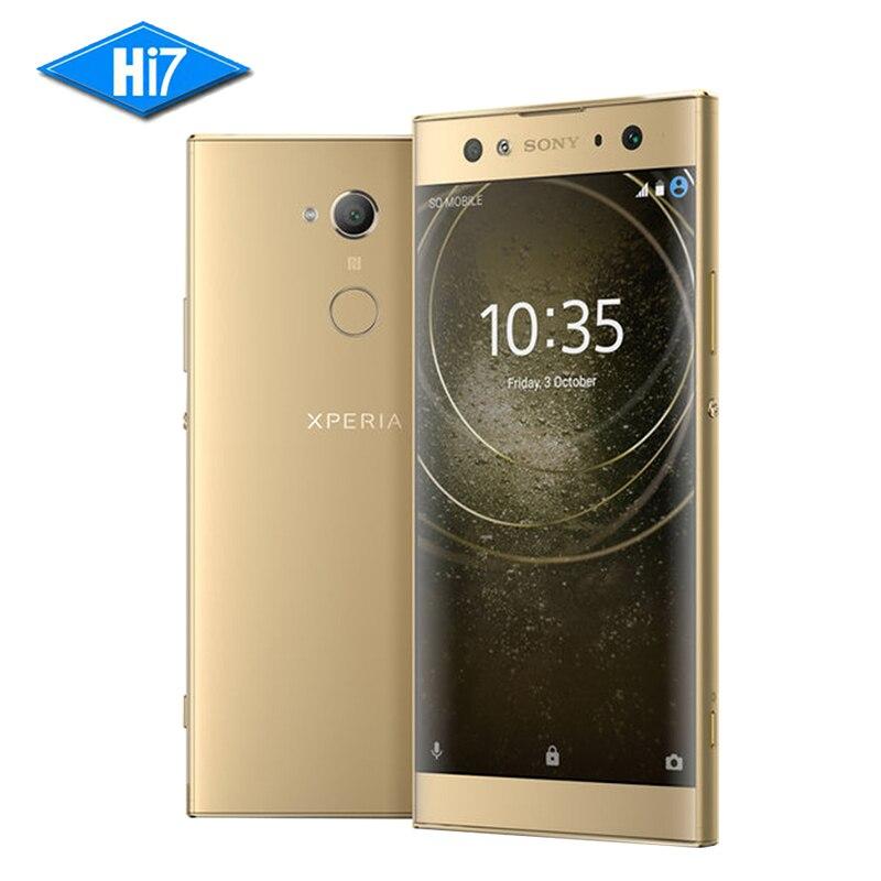 Nuevo original Sony Xperia XA2 ultra H4233 3 Cámara 64G Rom 4G Ram 23.0MP octa Core NFC 3580 mah dual sim Android 8 teléfono inteligente
