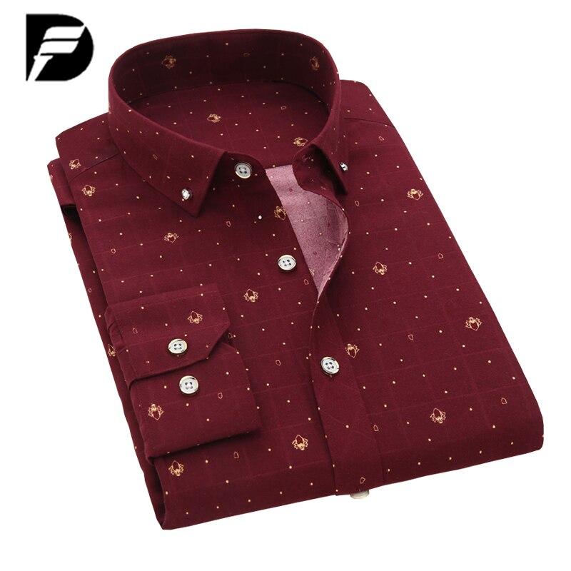 Kh High Quality Mens Shirts Spring New Fashion Casual Plaid Shirts Mens Slim Fit Long-sleeved Business Shirt Plus Size M~5xl Cheap Sales Casual Shirts