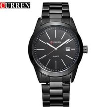 Curren mira a los hombres reloj de cuarzo relogio masculino relojes hombre Analógico deportes Ocasionales 8091
