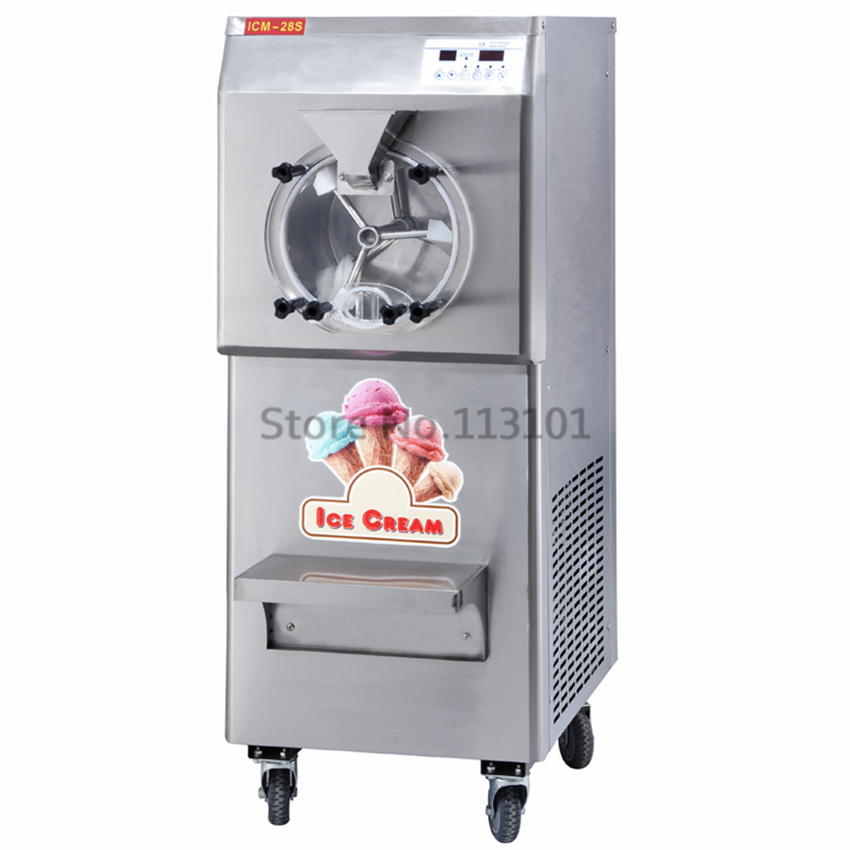 Stainless Steel Commercial Gelato Maker Brand New Italian Ice Cream Machine High Quality edtid new high quality small commercial ice machine household ice machine tea milk shop