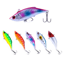 5pcs 7.5cm 10g Rattlin VIB Fishing Lure Vibration Bait Carp Trout Perch Fishing Tackles Artificial Bait Pesca Wobblers