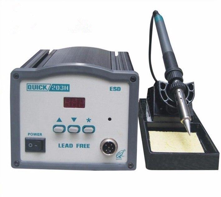 купить Quick 203H 90W hoogfrequente digitale SMD soldeerstation ijzer Intelligente Lood онлайн