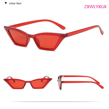 Transparent CatEye Sunglasses