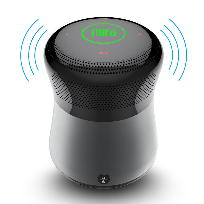 Mifa A3 Bluetooth lautsprecher Touch Control Drahtlose Tragbare Lautsprecher HiFi 3D Stereo Support Tf-karte AUX Freisprecheinrichtung Mit Mikrofon