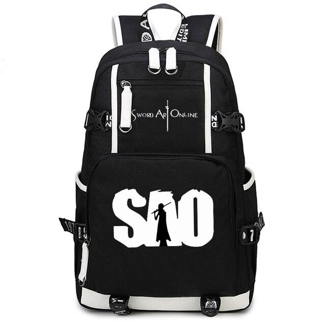 Anime Bleach Kids Sword Laptop Bags Men School Bags Swordman Style ...