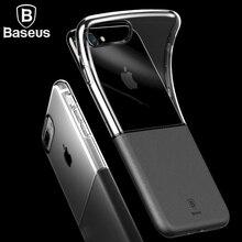 BASEUS 2 в 1 мягкой ТПУ Жесткий Чехол для iPhone 7 Plus Ultra Slim телефона чехол для iPhone 7 Plus защитный Coque принципиально