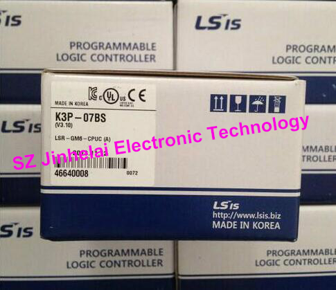 все цены на 100% New and original K3P-07BS LS(LG) CPU UNIT, 384 I/O points, Computer Link (RS422C/485), PID, RTC онлайн