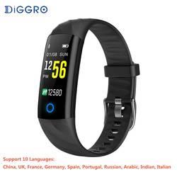 S5 Smart Bluetooth браслет IP68 Водонепроницаемый сердечного ритма крови Давление кислорода в крови мониторинга обнаружения Спорт для телефона