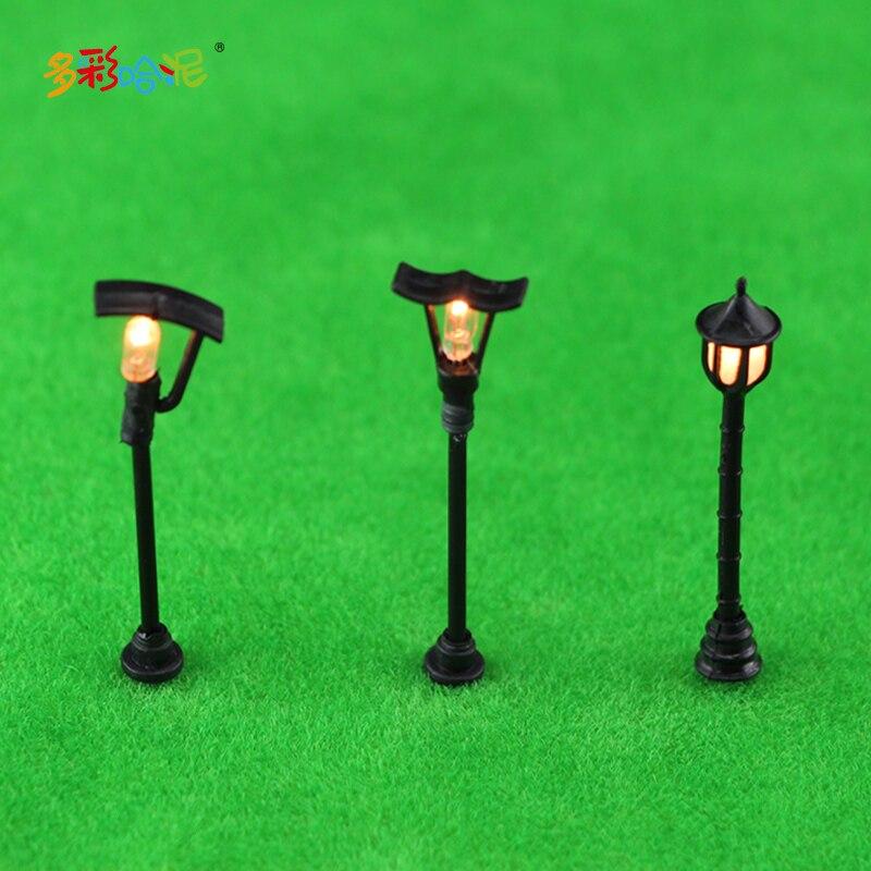 웃 유Building model sand table model materials Single hair light ...