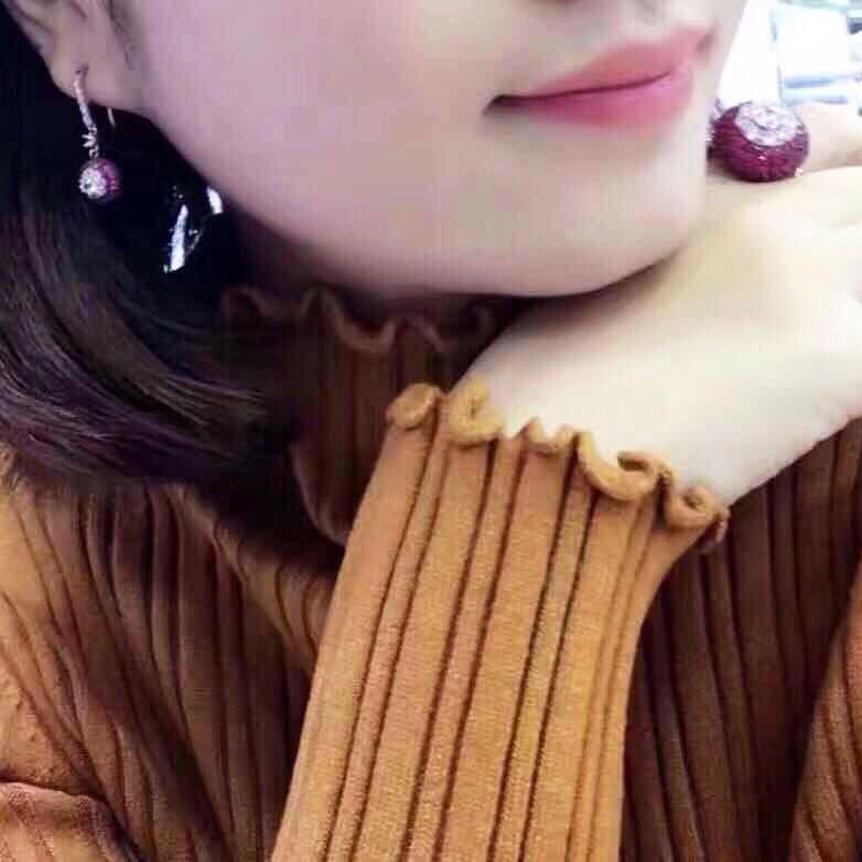 Qi Xuan_Trendy Jewelry_Simple Temperament Ring Earring Set_S925 Solid Sliver Fashion Ring Earring_Manufacturer Directly Sale Qi Xuan_Trendy Jewelry_Simple Temperament Ring Earring Set_S925 Solid Sliver Fashion Ring Earring_Manufacturer Directly Sale