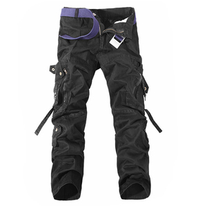 Image 4 - Hommes Cargo pantalon vente chaude grande taille 28 42 marque ample Homme militaire pantalon armée marque vêtements décontracté travail pantalon hommes