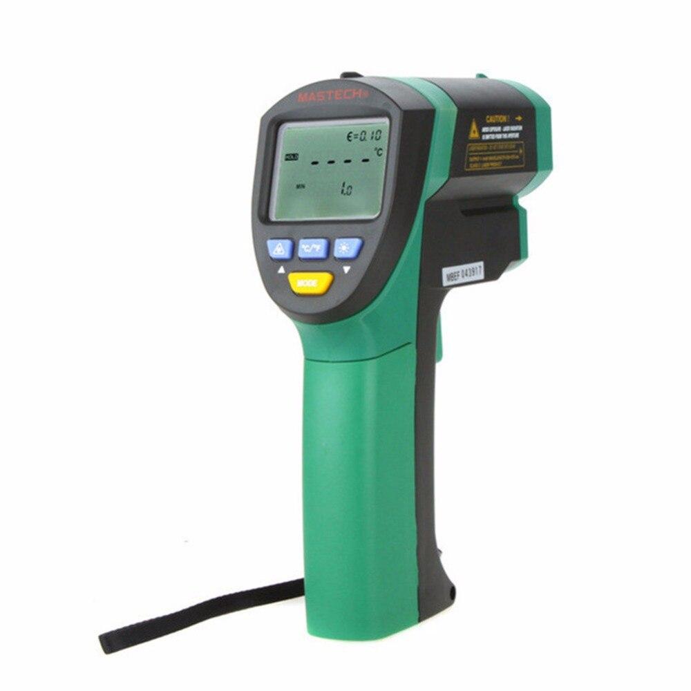 Mastech MS6550A инфракрасный термометр Бесконтактный ИК Температура лазерный пистолет метр ЖК дисплей цифровой термометр 32 ~ 1200C