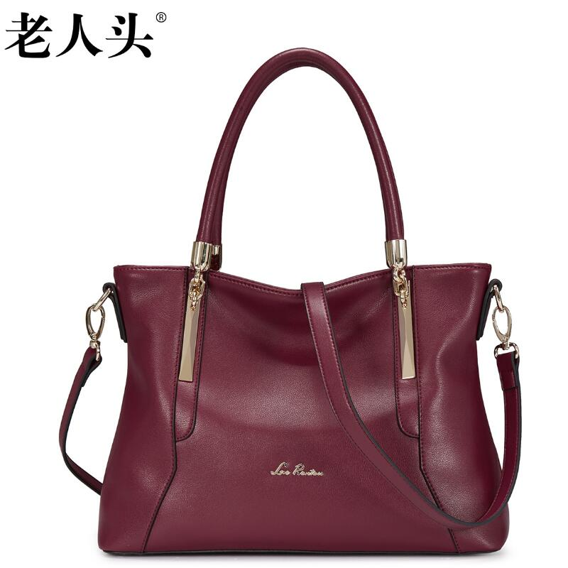все цены на Famous brand top quality dermis women bag New Simple Shoulder Messenger Bag Fashion handbags Tote bag women's handbags