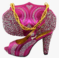 New Design Italian Shoe With Matching Bag For Wedding Italy Shoe And Bag To Match Fashion Women Shoes For Party MM1027
