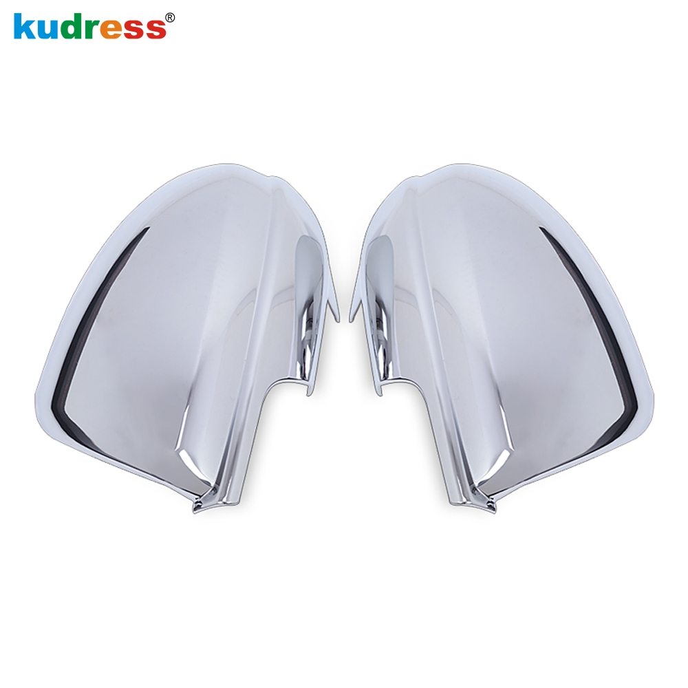 For Mazda 3 2009 2010 2011 2012 ABS Chromium Outer Side Door Rearview Mirror Decoration Cover Trims Styling Accessories 2pcs 2 pieces car styling door side rearview mirror cover trim abs for subaru forester 2009 2010 2011 2012