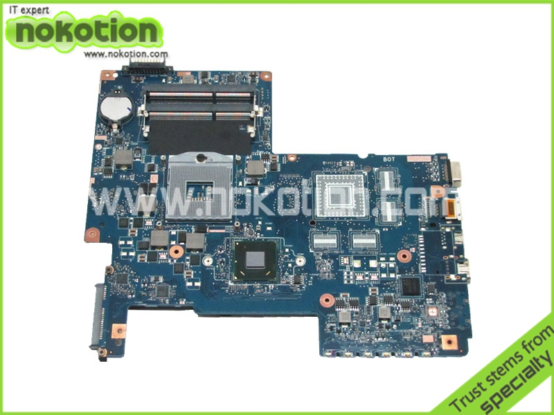 NOKOTION PN 08N1-0NA1J00 For Toshiba Satellite L770 L775 Laptop motherboard hm65 ddr3 Socket pga989 H000032380 nokotion sps v000198120 for toshiba satellite a500 a505 motherboard intel gm45 ddr2 6050a2323101 mb a01