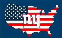 3x5ft New York Giants Flag with American banner flag 100D Polyester 90x150cm  with 2 Metal Grommets b75c54ac1