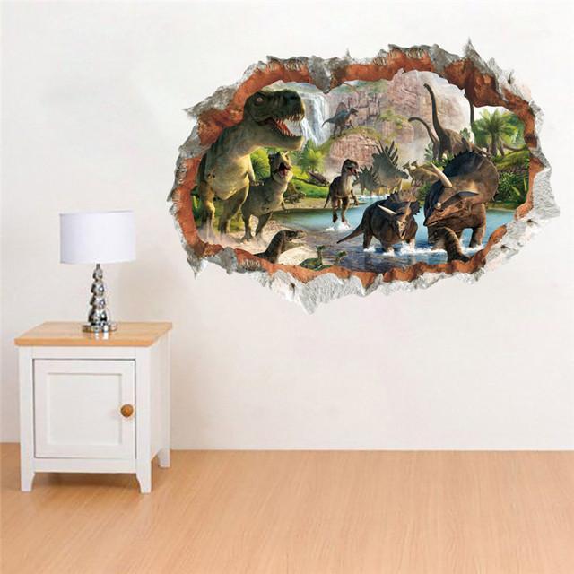 Jurassic Park dinosaur wall stickers 50 x 70 cm