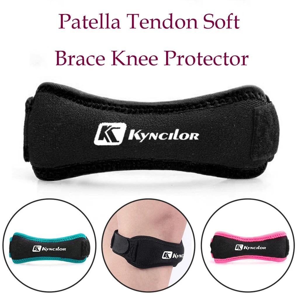 2xKyncilor Patella Tendon Brace Knee Sports Support Strap Belt Pain Relief Guard