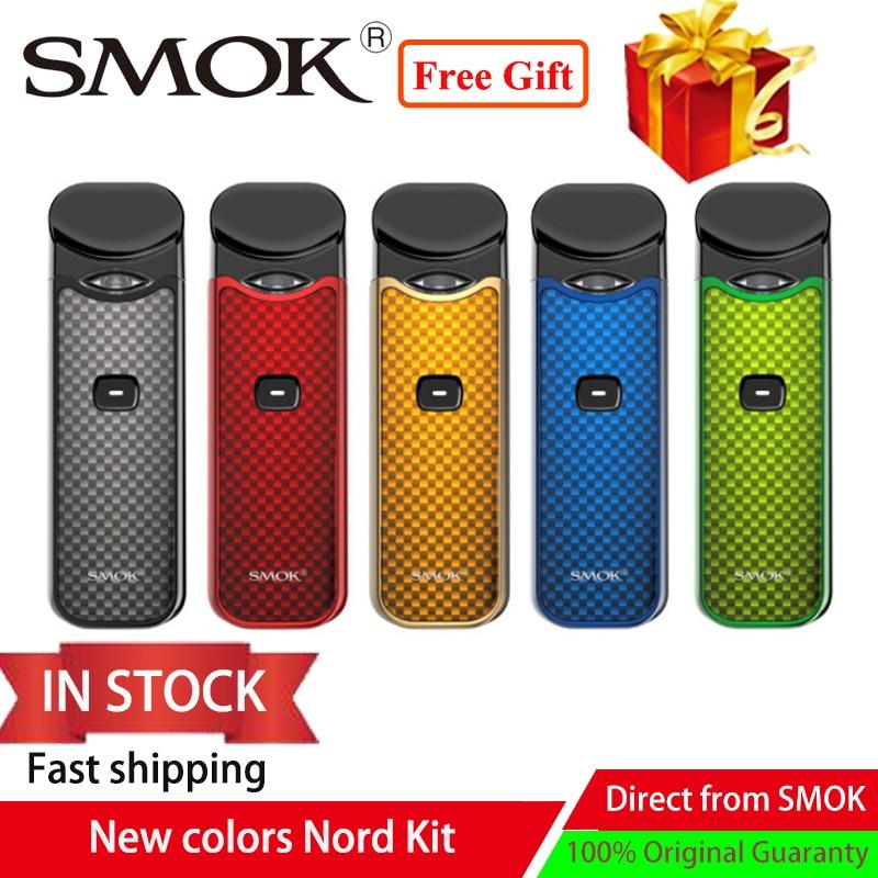 Pod Vape Smok Nord Kit 1100mAh &3ML pod Cartridge fit nord mesh/mesh MTL coil Vape electronic cigarette kit vs smok novo to vape