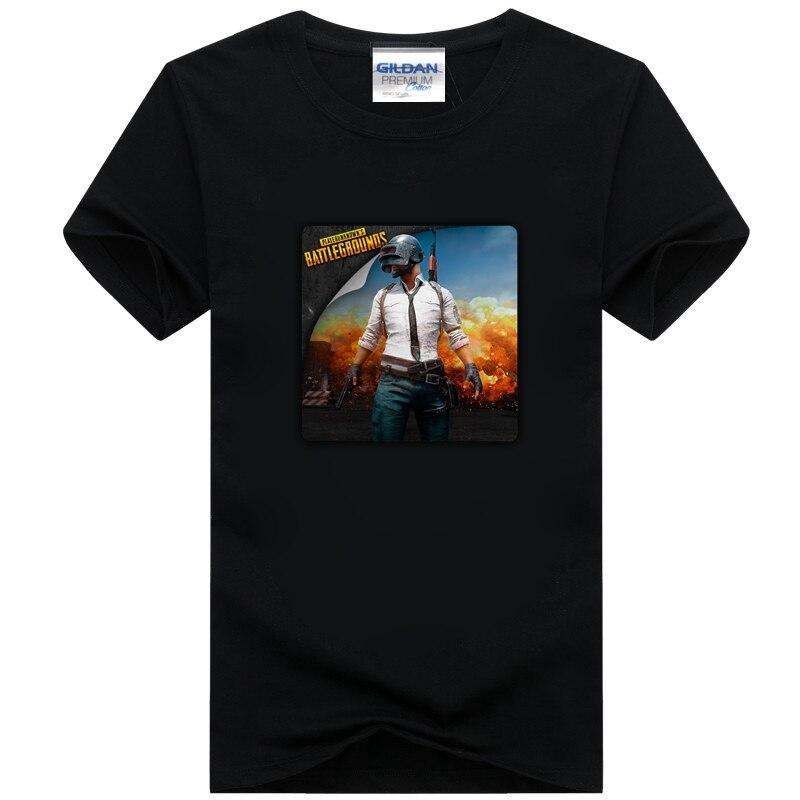 Cool Playerunknown S Battlegrounds T Shirt Large Size: Cool Playerunknown's Battlegrounds Men T Shirt Cotton
