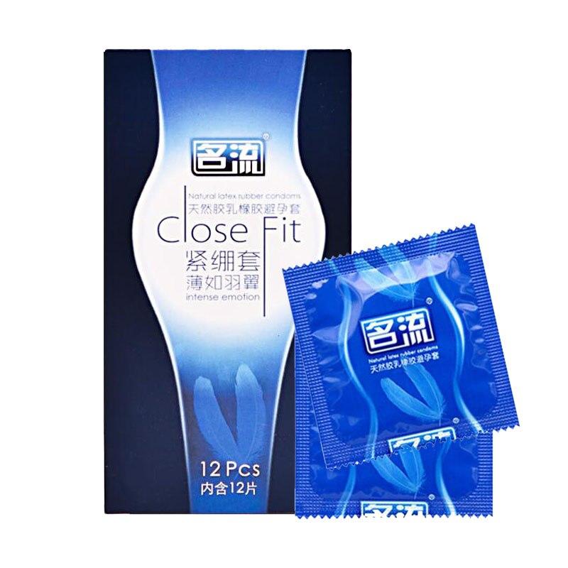 PERSONAGE 24Pcs/Lot Close Fit Condoms 49mm
