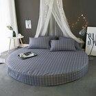 grid printed bed mat...