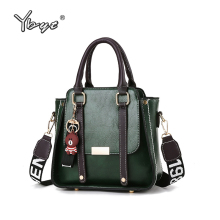 YBYT 2019 women luxury handbags vintage PU Leather famale shoulder crossbody bag women bags designer hotsale women messenger bag